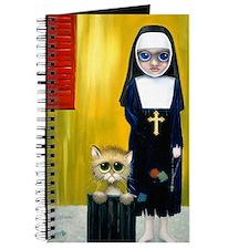 """The Crying Nun"" avec kitten Journal"