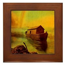 Noah Ark Framed Tile