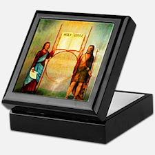 The Holy Saints John Keepsake Box
