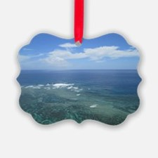 The sea of Okinawa photo Ornament