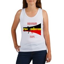 Belgium World Cup 2014 Women's Tank Top
