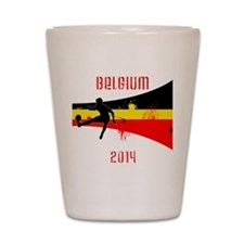 Belgium World Cup 2014 Shot Glass