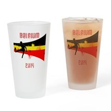 Belgium World Cup 2014 Drinking Glass