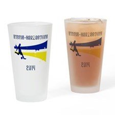 Bosnia-Herzegovina World Cup 2014 Drinking Glass