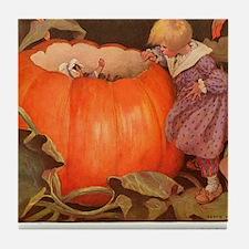 Peter, Peter Pumpkin Eater Tile Coaster
