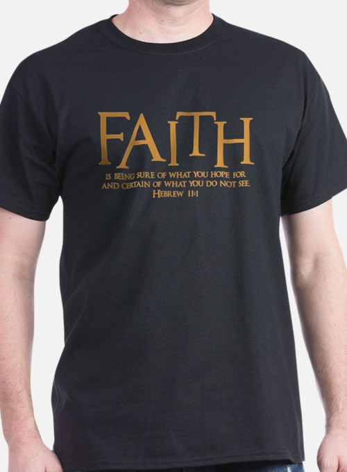 Hebrew 11:1 T-Shirt