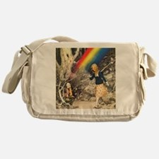 Rainbow and Pot of Gold Messenger Bag