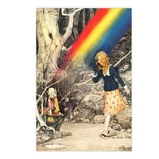 Rainbow and Pot of Gold Postcards (Package of 8)