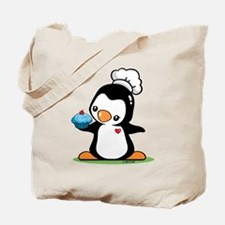 Cooking Penguin (c) Tote Bag