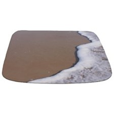 Sandy Beach at Ocean Shoreline Bathmat
