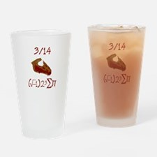 i 8 sum pi on Pie Day Drinking Glass