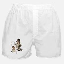 Kiddie Cartoon - Puppy/Lion Tamer Boxer Shorts