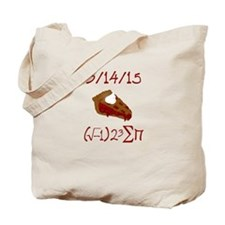 i 8 sum pi on Pie Day Tote Bag