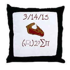 i 8 sum pi on Pie Day Throw Pillow
