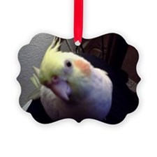 Cockatiel Magic Picture Ornament