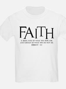 Hebrew 11:1 T-Shirt