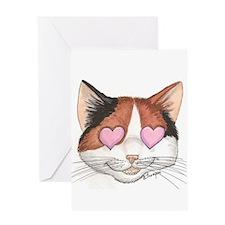Noosh Love Eyes Greeting Cards