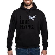 I Love Flying Hoodie