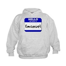 hello my name is emanuel Hoodie