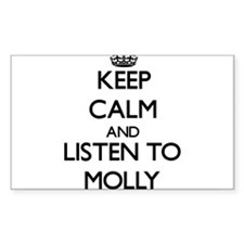 Keep Calm and listen to Molly Decal