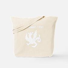 Custom Medieval Dragon Tote Bag