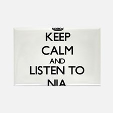 Keep Calm and listen to Nia Magnets
