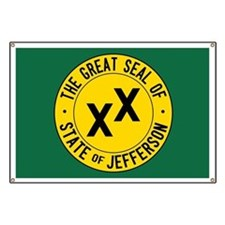State of Jefferson Flag Banner