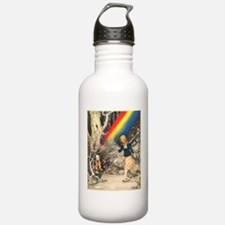 Rainbow and Pot of Gold Water Bottle