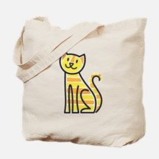 Tabby Cat Tote Bag