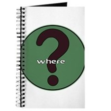 The question is WHERE? Journal