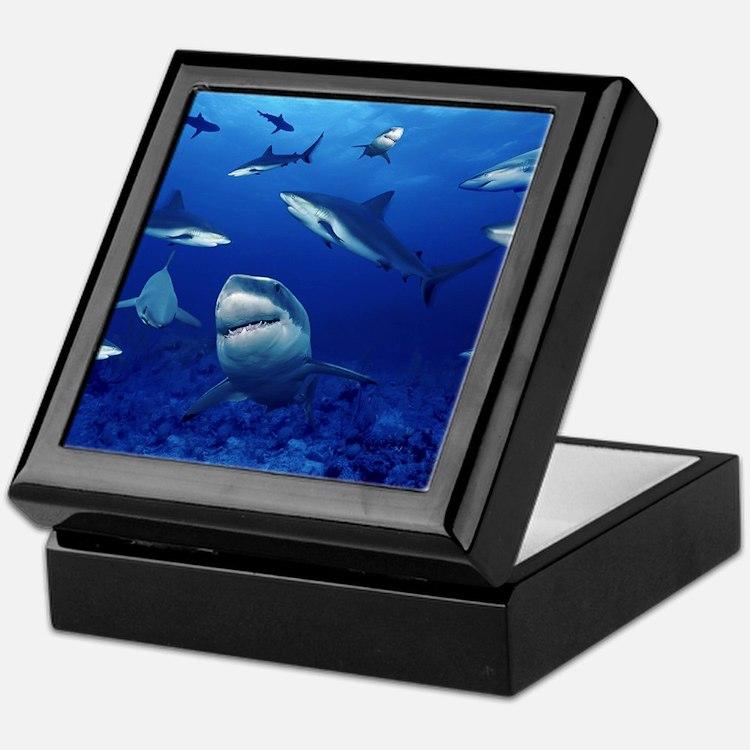 Sharks! Keepsake Box