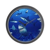 Marine biology Wall Clocks