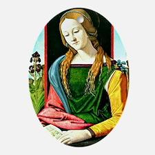 Magdalena Reading, Piero di Cosimo p Oval Ornament