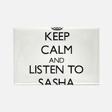 Keep Calm and listen to Sasha Magnets