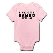 Sambo Skills Designs Infant Bodysuit