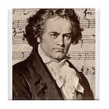 Beethoven Drink Coasters