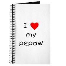 I love my pepaw Journal
