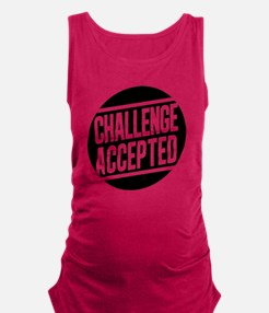 Challenge Accepted Maternity Tank Top