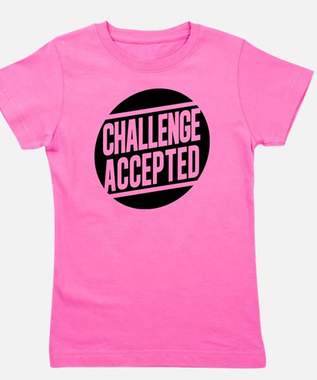 Challenge Accepted Girl's Tee