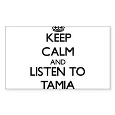 Keep Calm and listen to Tamia Decal