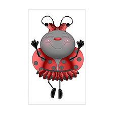 Dancing Ladybug Decal