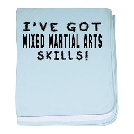 Mixed Martial Arts Skills Designs baby blanket