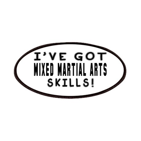 Mixed Martial Arts Skills Designs Patches