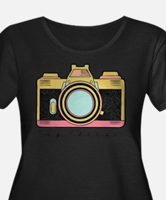 Say Cheese Plus Size T-Shirt