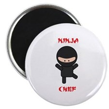 "Ninja Chef 2.25"" Magnet (100 pack)"