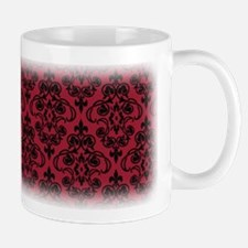 Chili Pepper & Black Damask #36 Mug