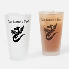Custom Dragon With Wings Drinking Glass