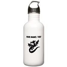 Custom Dragon With Wings Water Bottle
