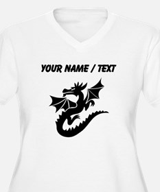 Custom Dragon With Wings Plus Size T-Shirt