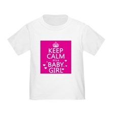Keep Calm It's a Baby Girl T-Shirt